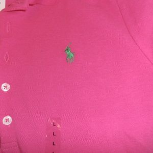 Ralph Lauren Polo casual dress button down NEW Lg